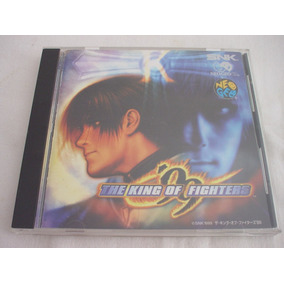 Neo Geo Cd : The King Of Fighters 99 Apenas Caixa E Manual