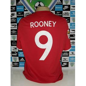 Inglaterra England Nº9 Rooney Tam. G 46 58x76 Original Umbro