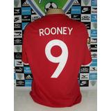 Inglaterra England Nº9 Rooney Tam. G 46 58x76 Original Umbro 6099b9ebb3a5b