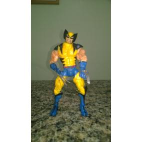 Boneco Wolverine X-men Marvel Legends Acompanha 2 Bases