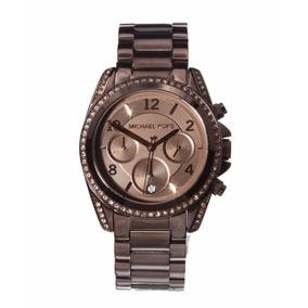 5d535f0d5be08 Relogio Michael Kors Feminino Marrom Chocolate - Relógio Feminino no ...