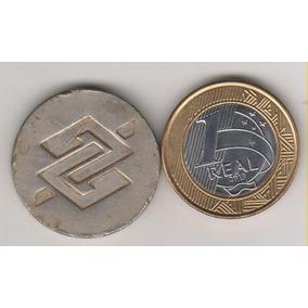 380 - Chaveiro Antigo Banco Do Brasil Metal 20 Gr. R$ 25,00