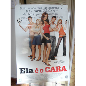 Poster Ela É O Cara - Frete: 8,00