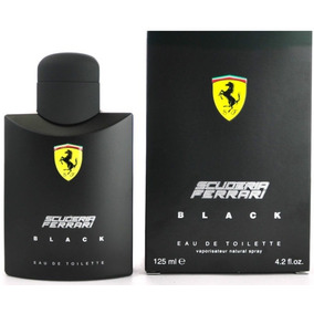 Perfume Ferrari Black 125ml 100% Original Made In Italy
