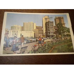 Antigo Cartão Postal Curitiba Praça Tiradentes Paraná