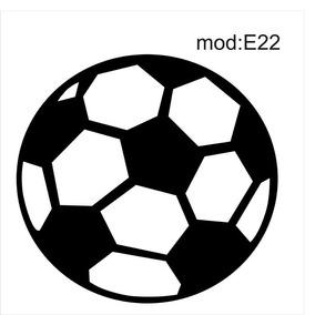 Adesivo E22 Bola Gol Redonda Futebol Adesivo Decorativo 4022dc0e9ddf6