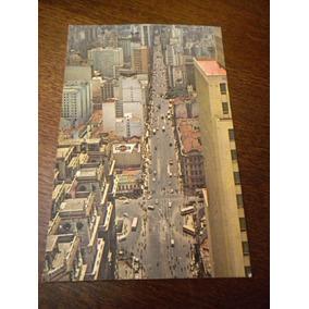 Antigo Cartão Postal São Paulo Avenida São João