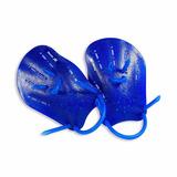 Palmar Para Natação Muvin Azul Tamanho P