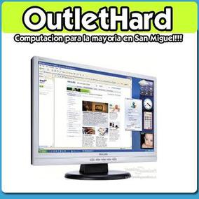 Monitor Led 19 San Miguel En Outlethard!!!