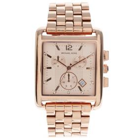 0314c2f2f66 Relógio Quadrado Michael Kors Mk3142 Rose - Relógios De Pulso no ...