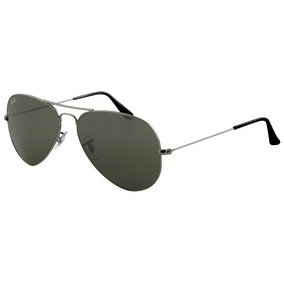 f1a48956119f1 Ray-ban Rb3025 Aviator - Gunmetal De Sol Ray Ban - Óculos no Mercado ...