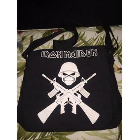 Iron Maiden Bag Sacola P/ Viagem Trabalho Pasta Linda/unica