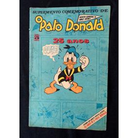 O Pato Donald 25 Anos Gibi Antigo Julho 75