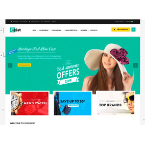 dbea143a6 Template Loja Virtual Prestashop Para Loja Virtual Multiuso