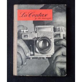 La Contax Fotografia Maquina Manual Livreto Antigo