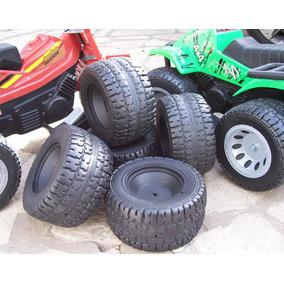 Rueda Para Auto Cuatriciclo Moto Jeep A Bateria Y A Pedal