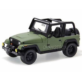 Jeep Wrangler 1992 Jada Toys 1:24 Verde Jad-98081-vd