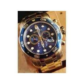 Invicta Pro Diver 0073 Ouro 18k Original