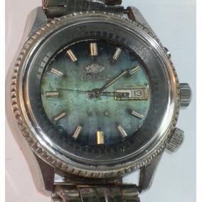 0adebe9e064 Relógio Antigo - Automatic - Orient Kd - King Diver - Verde