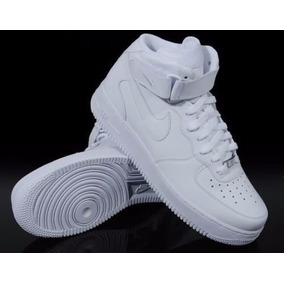 quality design c3857 7d0b4 Botas Nike Air Force One Blancas