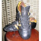 Antiguos Zapatos De Fútbol De Cuero adidas Peñarol 1982 Leer 2e4051cd89eee