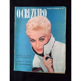 O Cruzeiro Kim Novak Fevereiro 1958 Revista Antiga