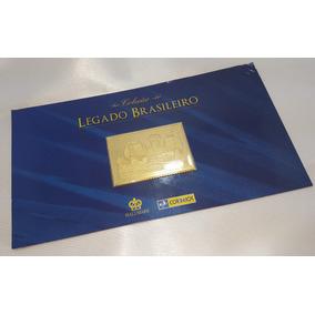 Coleção Legado Brasileiro Banhado A Ouro 24 Quilates