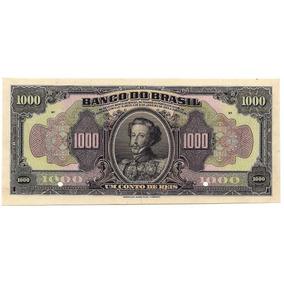 Rc0922 R202m Conto De Réis Do Banco Do Brasil 1923 Provas