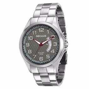 Relógio De Pulso Masculino Seculus 28691g0svna1