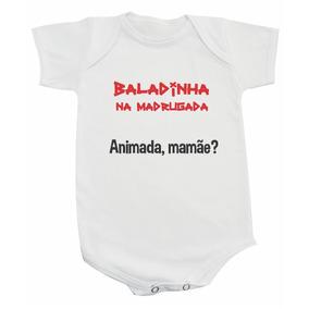 Body Baladinha Na Madrugada - Animada Mamãe