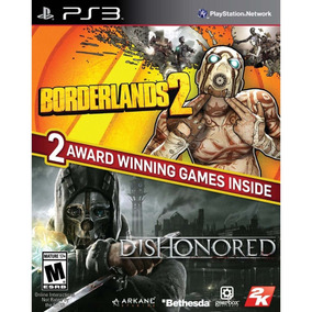 Jogos Borderlands 2 E Dishonored Para Playstation 3