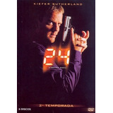 24 Horas 2ª Temporada - Box Com 6 Dvds - Kiefer Sutherland