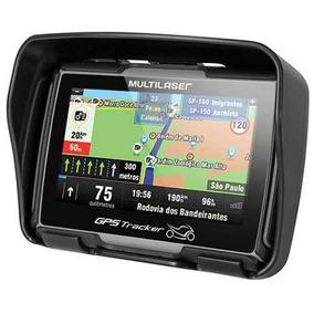 Gps Moto Tela 4.3 Prova Agua Igo Bluetooth Bmw Triumph Radar