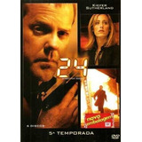 24 Horas 5ª Temporada - Box Com 6 Dvds - Kiefer Sutherland
