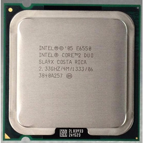 Procesador Intel Core 2 Duo E6550 2.33ghz 4mb Cache 1333mhz