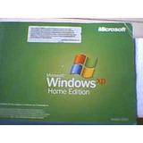 Licencia Original Xp Home Edition Sticker Original O Serial