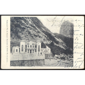 Exposição Nacional De 1908 - Rio De Janeiro - Restaurante