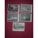 Postales Segunda Guerra Mundial Con Barcos