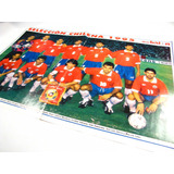 Poster Seleccion Chilena Formacion 1995