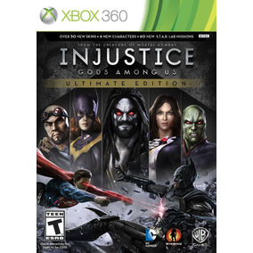 Jogo Novo Injustice Gods Amoung Us Ultimate Edition Xbox 360