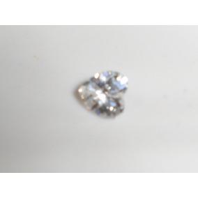 Magnifico Diamante Ruso Blanco De 7 Mm