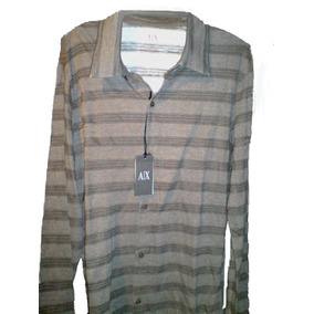 05dc1ec6e67 X Armani Exchange Camisa Manga Larga Original Certificado A - Ropa ...