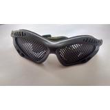Oculos Tela Airsoft E Esportes Ar Livre Com Tela De Metal