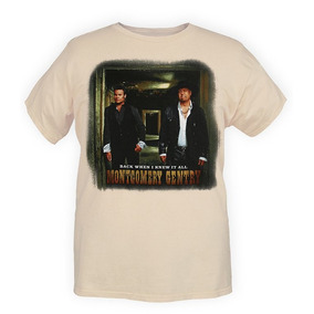 Hot Topic Playera Montgomery Gentry Knew It All T-shirt M