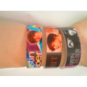3 Pulseras Katy Perry, Lady Gaga, Avril Lavinge, Icarly, Bbf