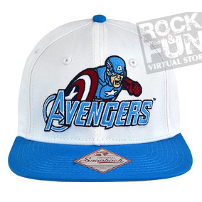 Capitan America Avengers Marvel Comics Gorra Importada bfe63a4e404