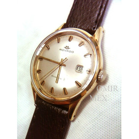 Reloj Movado Suizo Automatico Chapa Oro Vintage