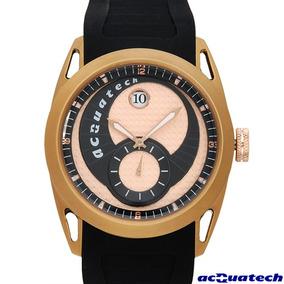 Reloj Acquatech Italiano Hombre, Fechador, Acero Inoxida Sp0