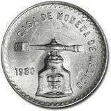 Moneda Una Onza Troy Plata Sterling 0 925 Buena Condición