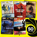 James Bond 007 Oferta 50 Aniversario 5 Pack Tipo Hotwheels